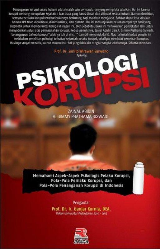 Cover Buku Psikologi Korupsi