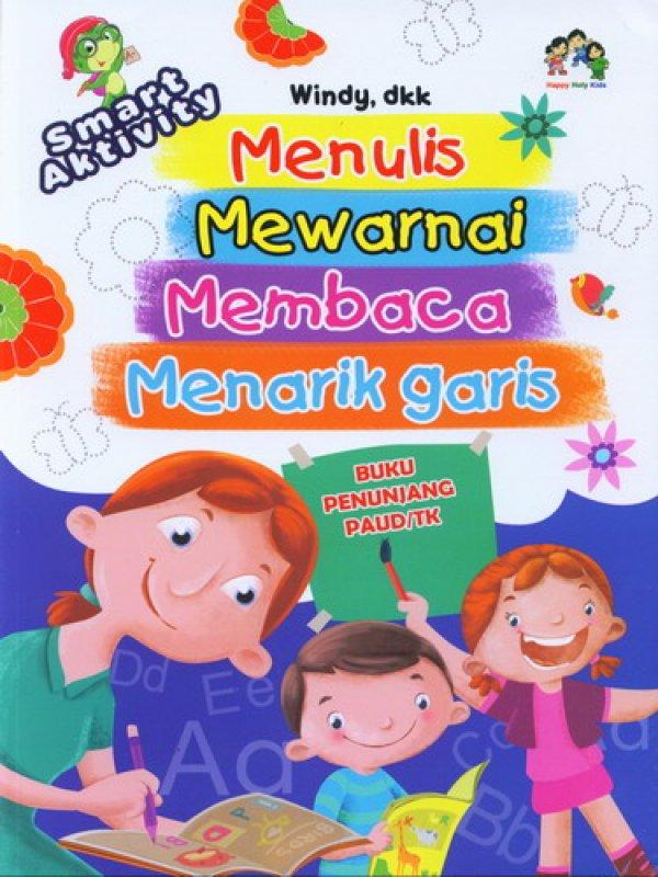 Cover Buku Menulis Mewarnai Membaca Menarik Garis