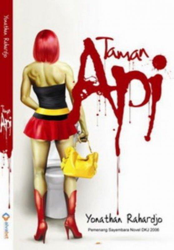 Cover Buku Taman Api: Novel