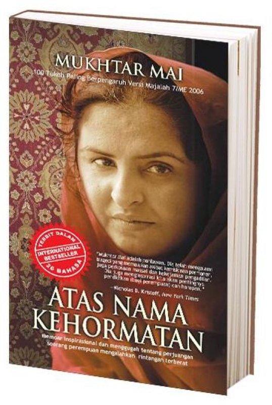 Cover Buku Atas Nama Kehormatan