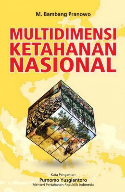 Cover Buku Multidimensi Ketahanan Nasional