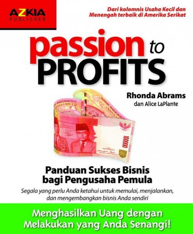 Cover Buku Passion to Profits