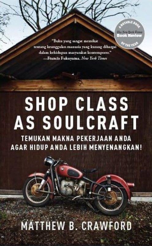 Cover Buku Shop Class as Soulcraft