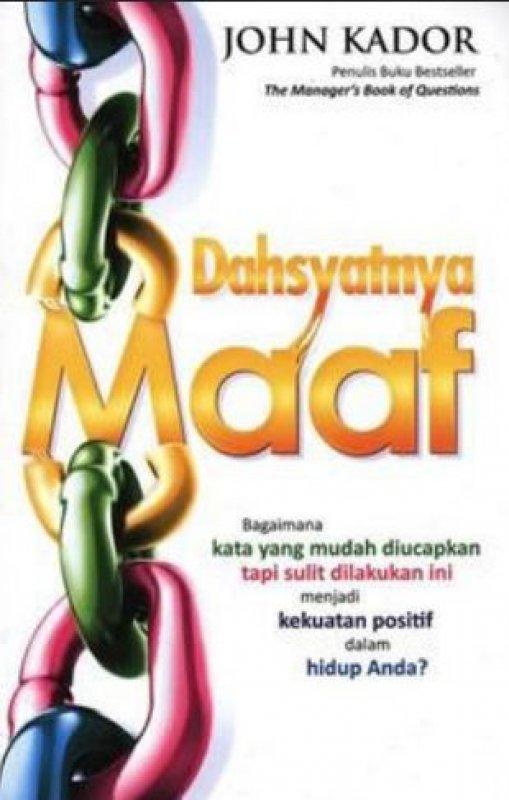 Cover Buku Dahsyatnya Maaf