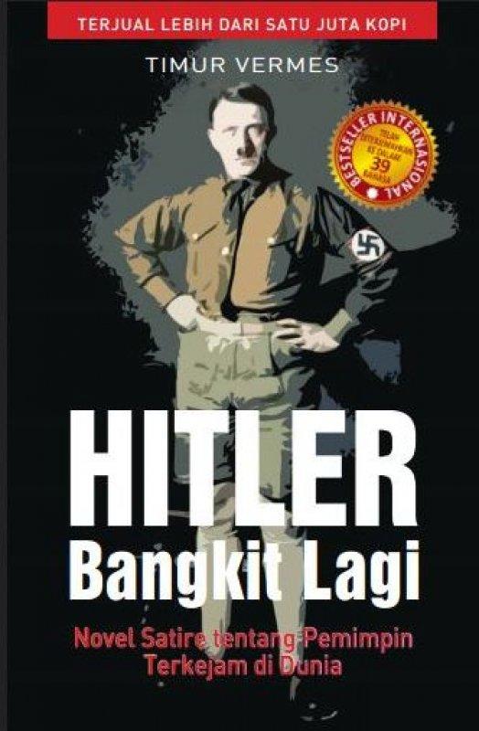 Cover Buku Hitler Bangkit Lagi