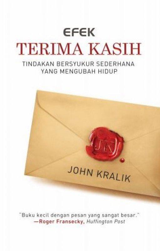 Cover Buku Efek Terima Kasih