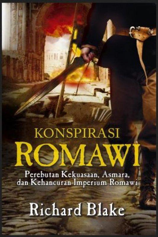 Cover Buku Konspirasi Romawi