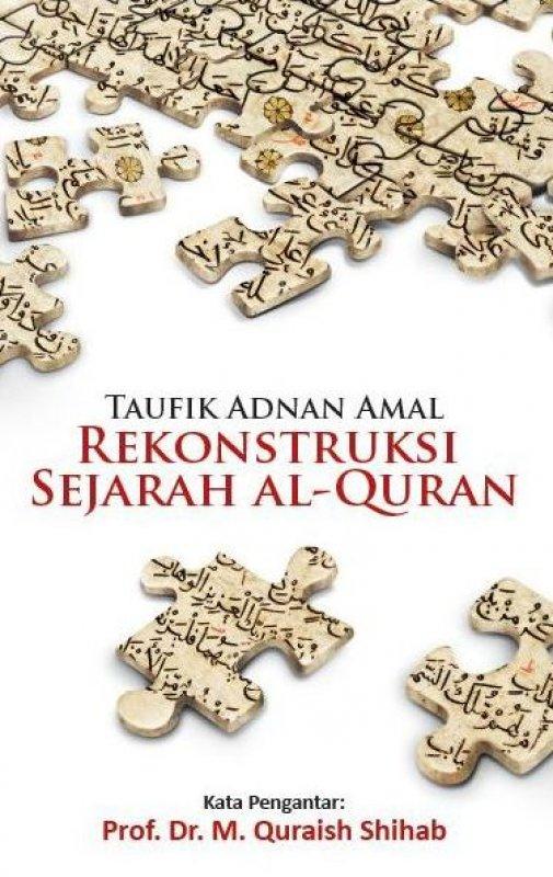 Cover Buku Rekonstruksi Sejarah Al-Quran