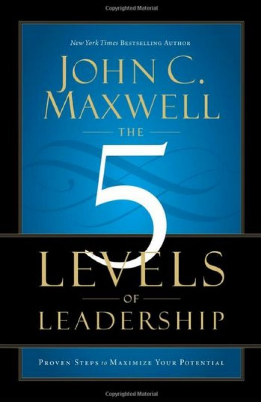 Cover Buku The 5 Levels of Leadership (Soft Cover)