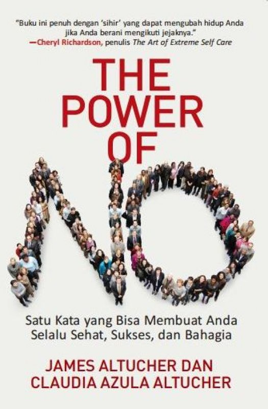 Cover Depan Buku The Power of NO