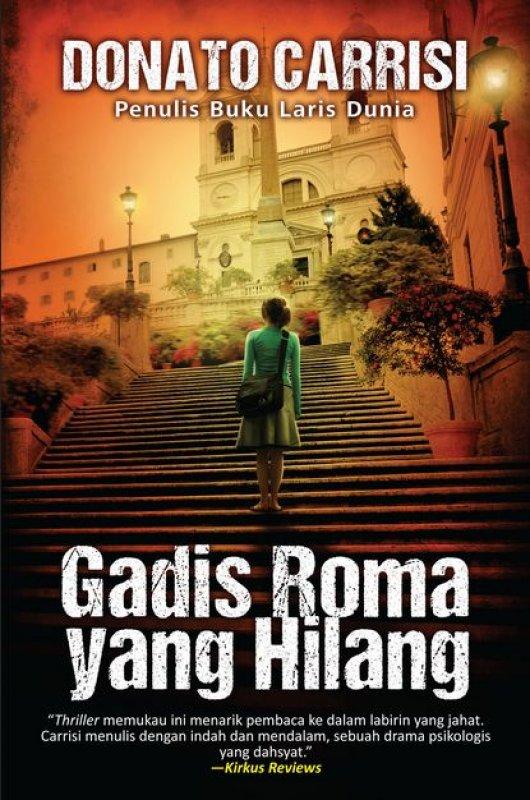 Cover Buku Gadis Roma Yang Hilang
