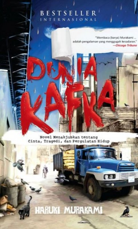 Cover Buku Dunia Kafka
