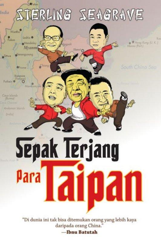 Cover Buku Sepak Terjang Para Taipan [Hard Cover]