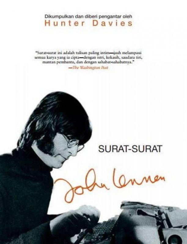 Cover Buku Surat-Surat John Lennon [Hard Cover]