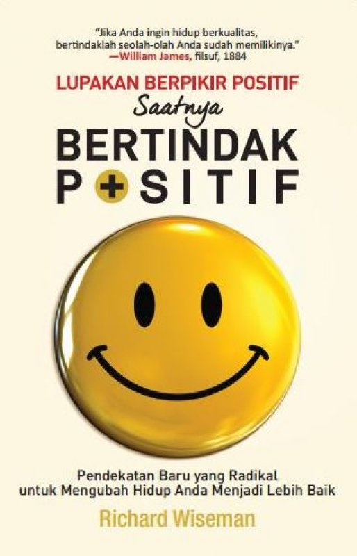 Cover Buku Lupakan Berpikir Positif Saatnya Bertindak Positif