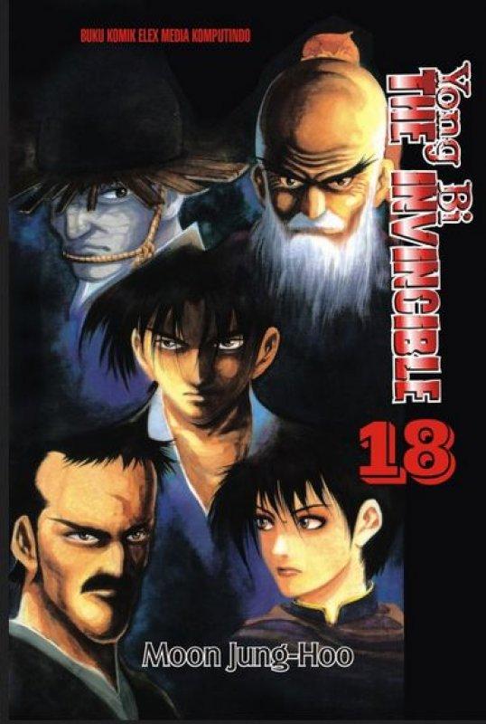 Cover Buku Yong Bi The Invincible 18