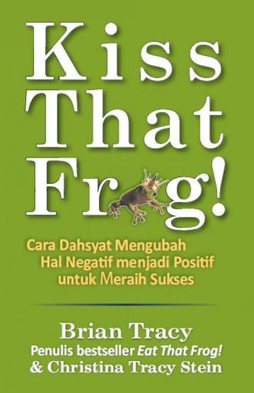 Cover Buku Kiss That Frog!