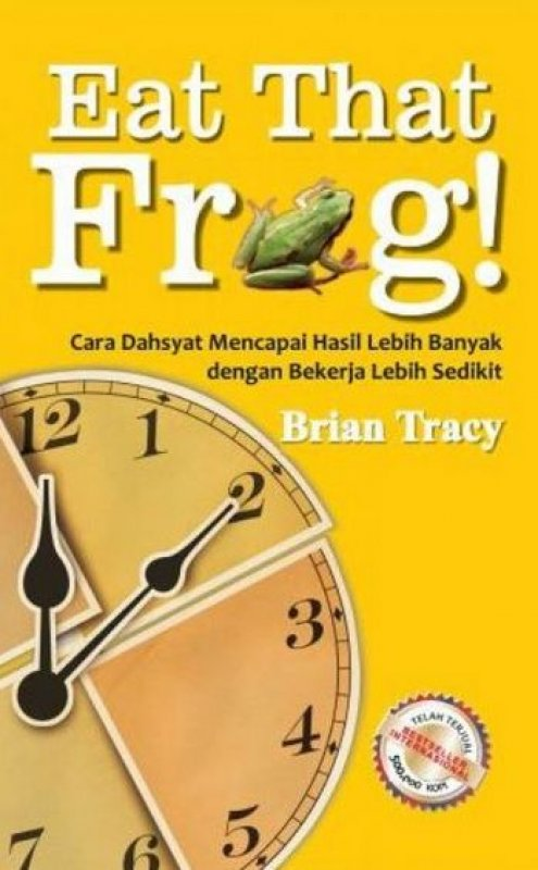 Cover Buku Eat That Frog!