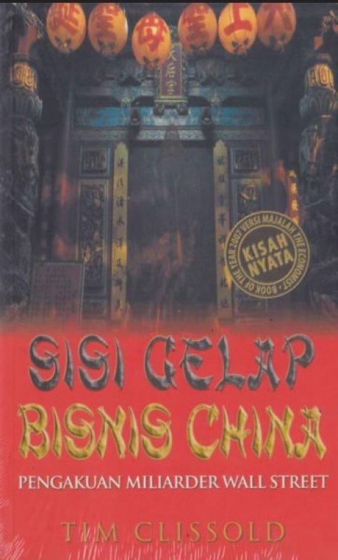 Cover Buku Sisi Gelap Bisnis China