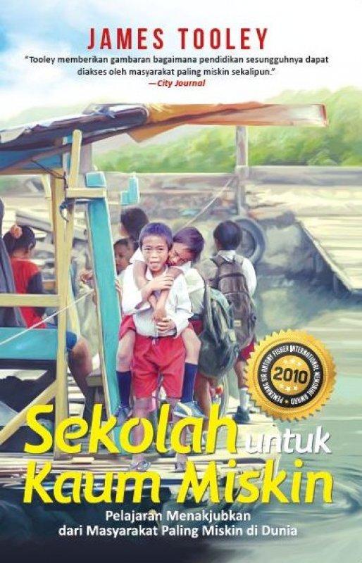 Cover Buku Sekolah untuk Kaum Miskin