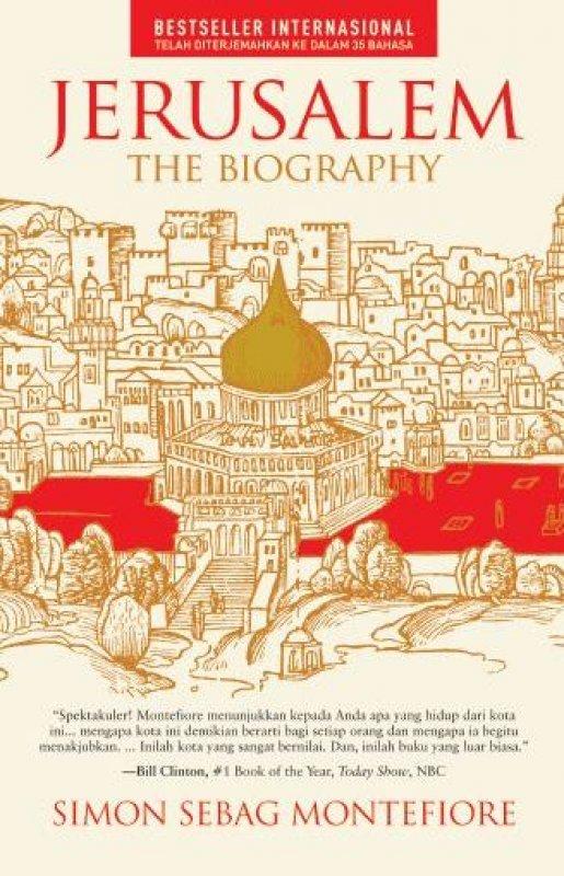 Cover Buku Jerusalem: The Biography [Hard Cover]