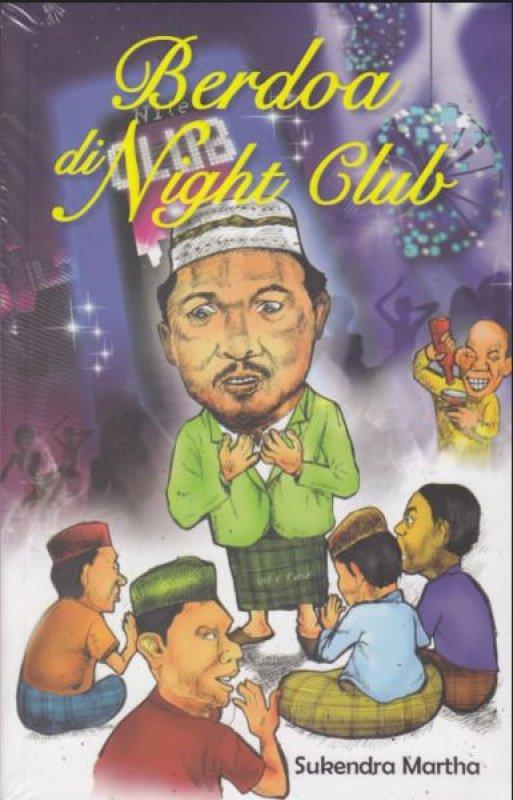 Cover Buku Berdoa di Night Club