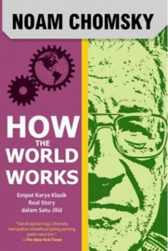 Cover Buku How The World Works-New