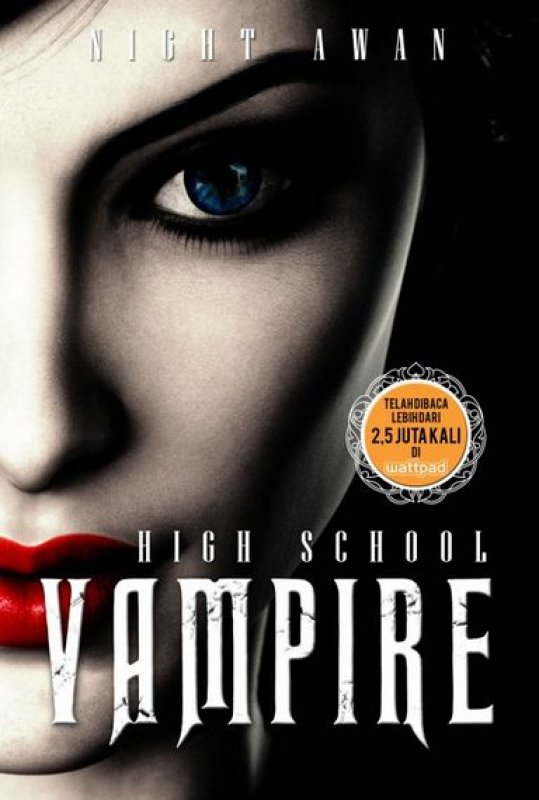 Cover Depan Buku High School Vampire