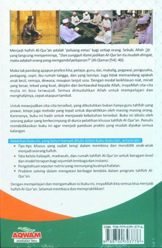 Cover Belakang Buku Menjadi Hafizh: Tips & Motivasi Menghafal Al-Quran [Hard Cover]