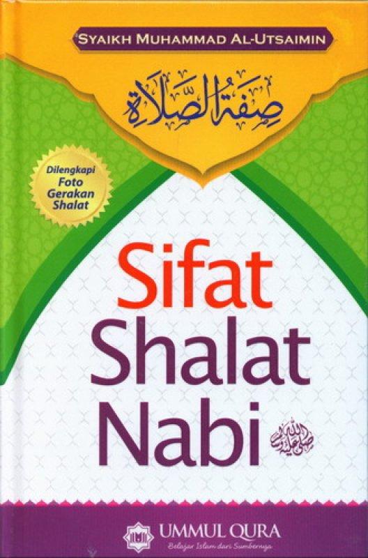 Cover Buku Sifat Shalat Nabi [Hard Cover]