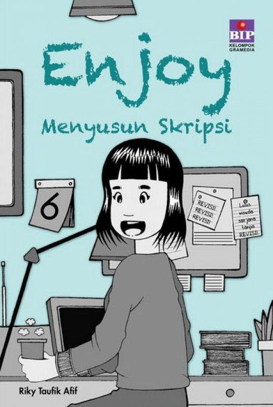Cover Buku Enjoy Menyusun Skripsi