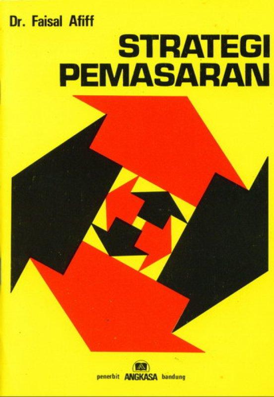 Cover Buku Strategi Pemasaran