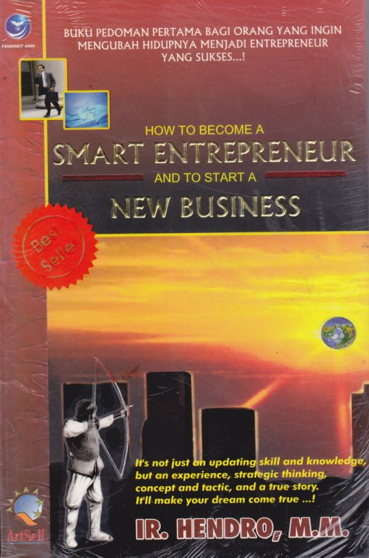 Cover Buku How To Become A Smart Entrepreneur & To Start A New Business