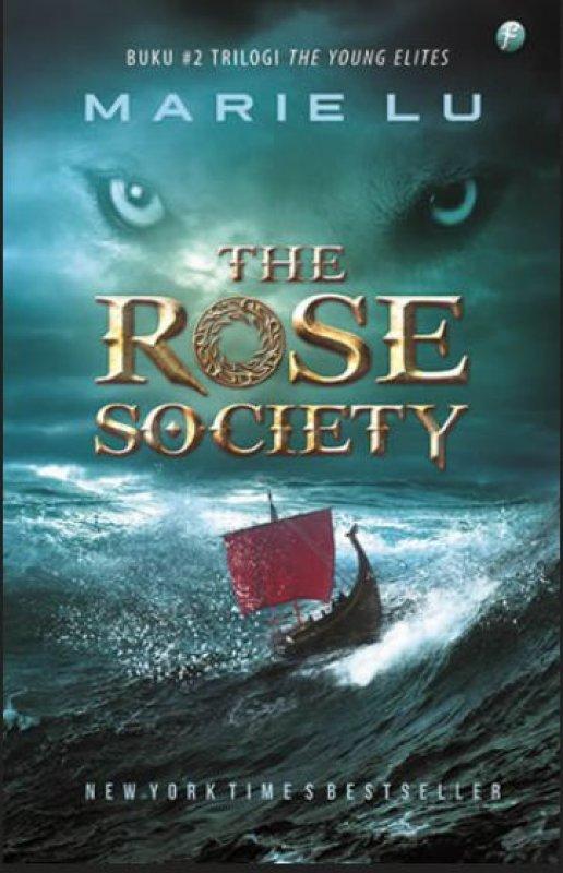 Cover Buku The Rose Society