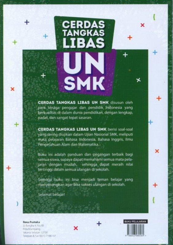 Cover Belakang Buku Cerdas Tangkas Libas UN SMK 2017
