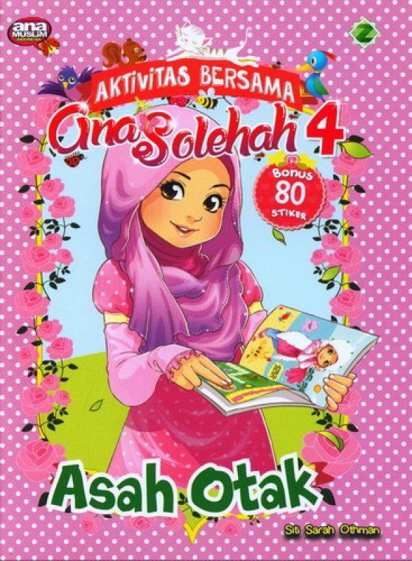 Cover Buku Asah Otak [Aktivitas Bersama Gina Solehah 4]