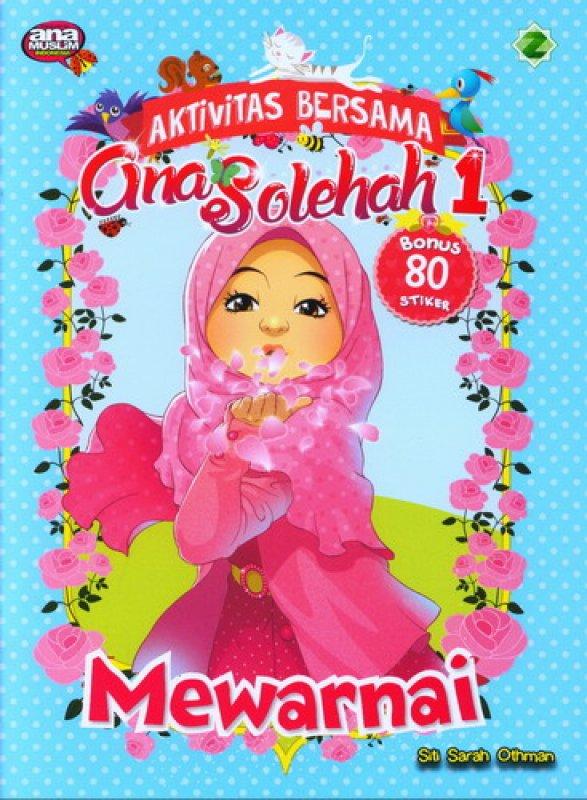Cover Buku Mewarnai [Aktivitas Bersama Gina Solehah 1]