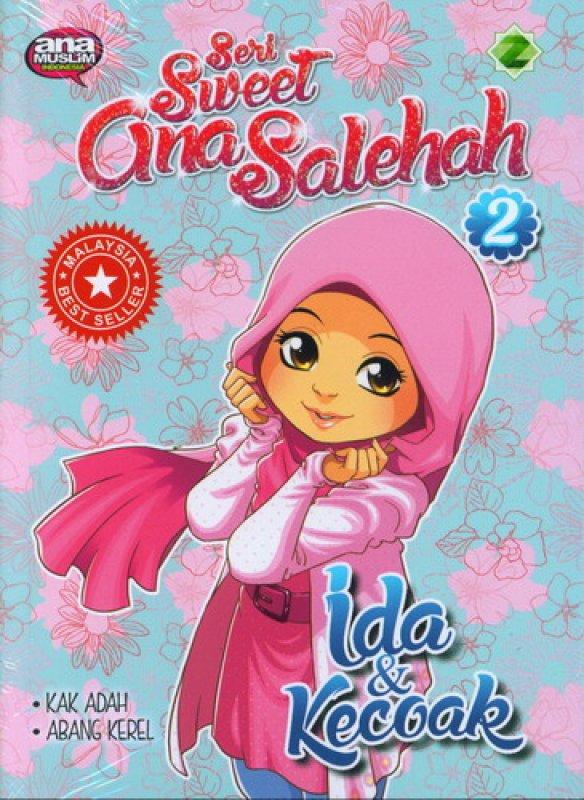 Cover Buku Seri Sweet Gina Solehah 2: Ida & Kecoak
