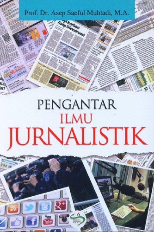Cover Buku Pengantar Ilmu Jurnalistik