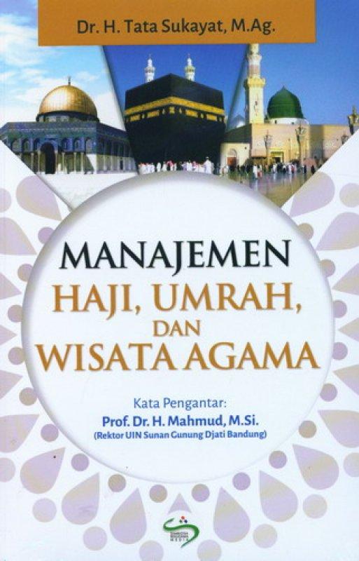 Cover Buku Manajemen Haji. Umrah. dan Wisata Agama