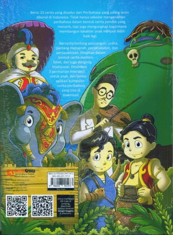 Cover Belakang Buku Kumpulan Cerita Karakter Mulia Untuk Anak