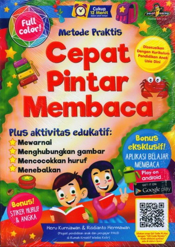 Cover Buku Metode Praktis Cepat Pintar Membaca [Full Color]