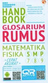 Handbook Glosarium Rumus Matematika-Fisika SMP kelas 7-8-9