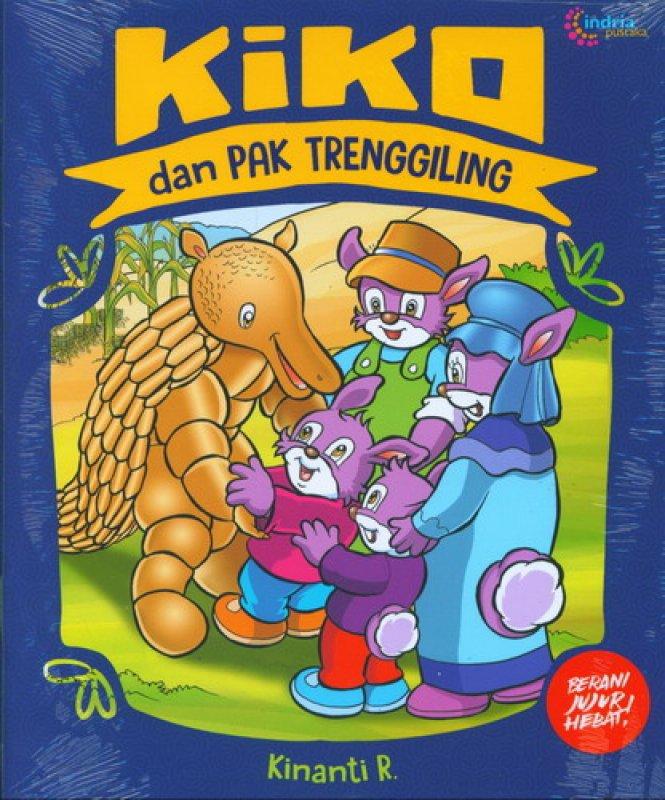 Cover Buku Kiko dan Pak Trenggiling