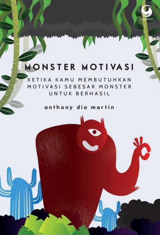 Cover Buku Monster Motivasi