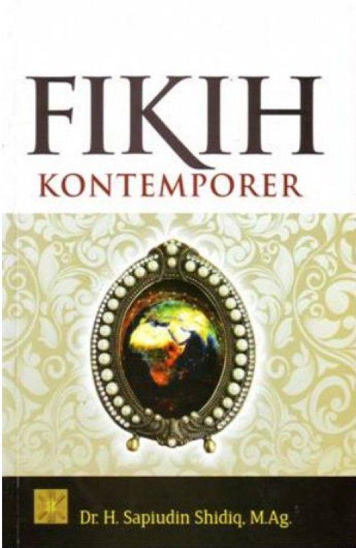 Cover Buku Fikih Kontemporer
