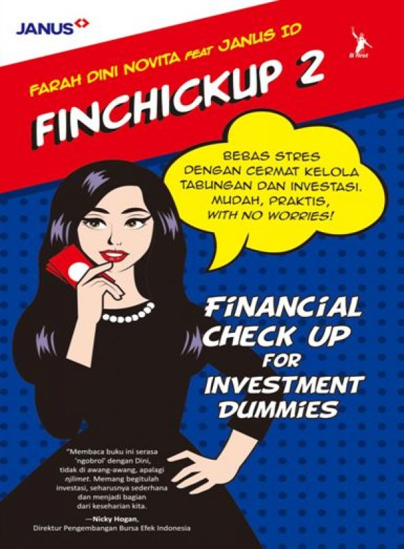 Cover Buku Finchickup 2: Financial Check Up For Investment Dummies