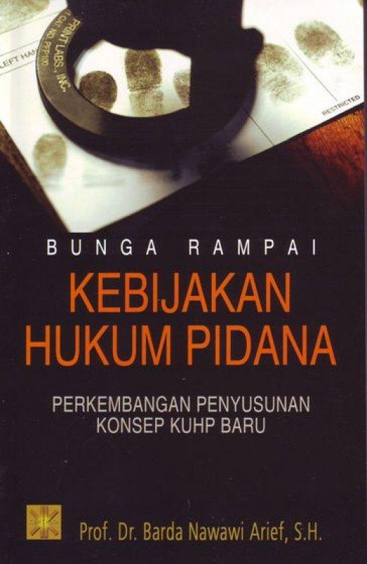 Cover Buku Bunga Rampai Kebijakan Hukum Pidana