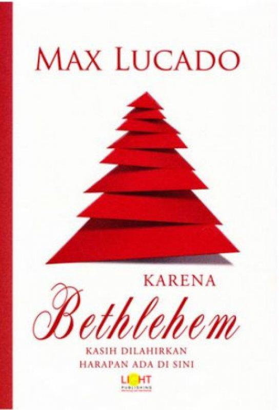 Cover Buku Karena Bethlehem