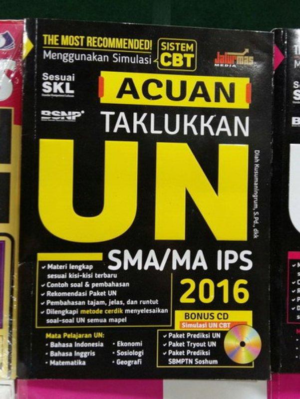 Cover Buku Acuan Taklukkan UN SMA/MA IPS 2016 [Bonus CD]